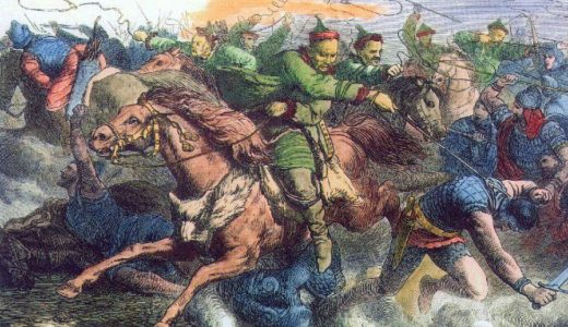 ゲルマン人の大移動 ─ 理由・西ヨーロッパ・フン族